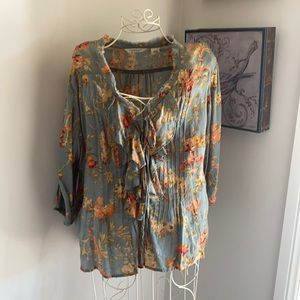 Ralp Lauren blouse size XL
